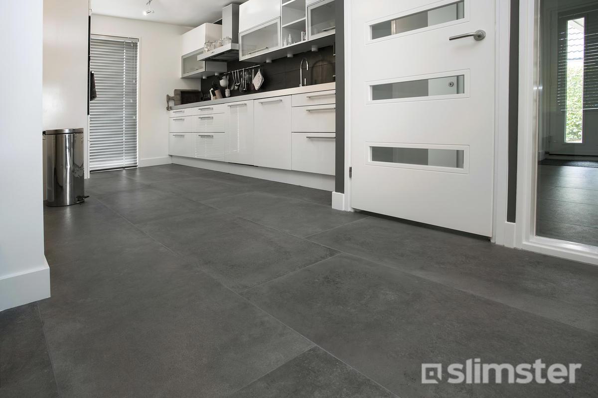 Keuken vloer voorbeelden inspiratie slimster