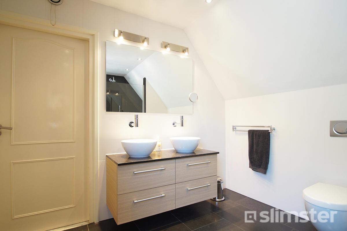 Zolder verbouwen tot badkamer slimster