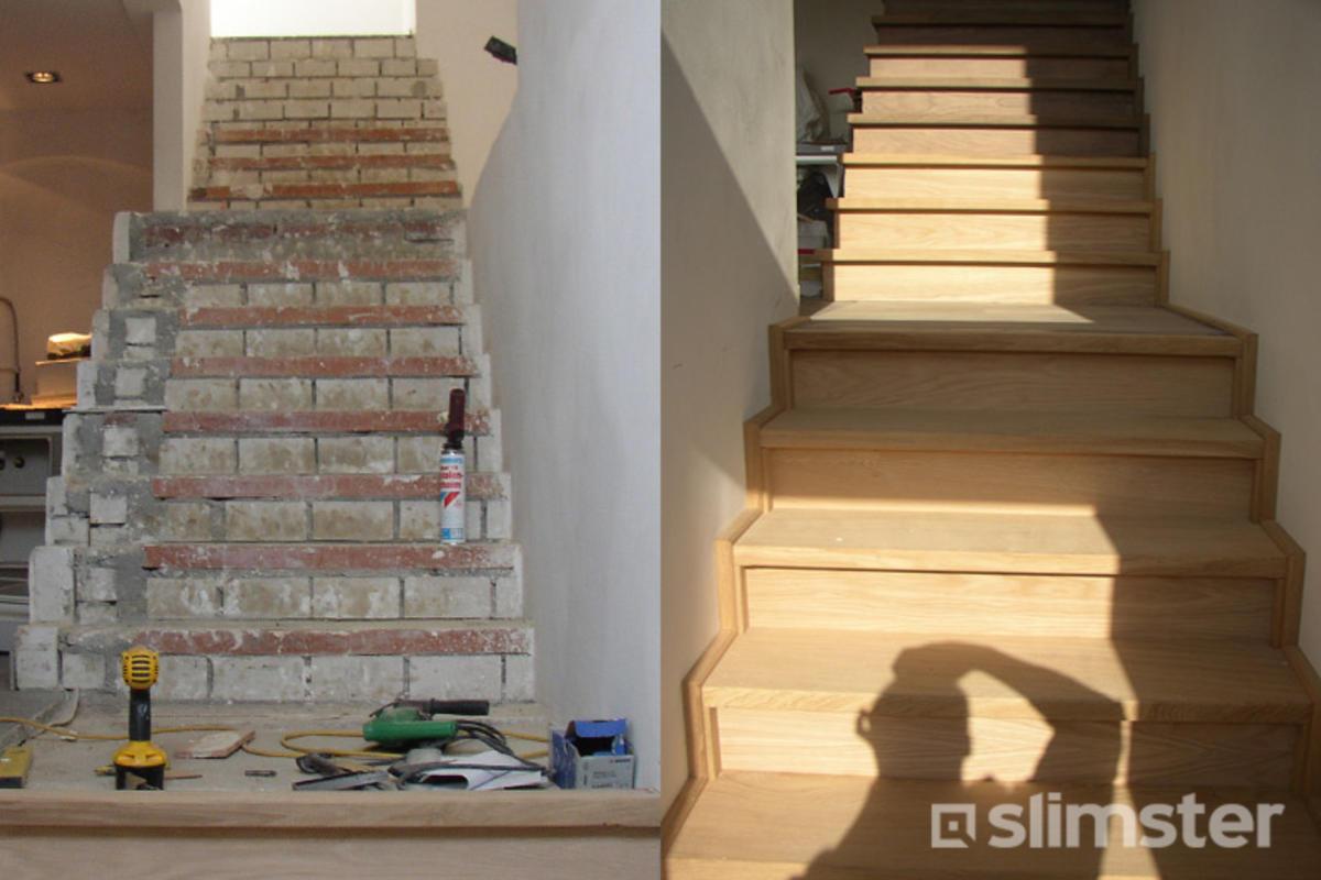 Betonnen Trap Inspiratie : Betonnen trap bekleden? 4 beste renovaties & afwerking slimster blog