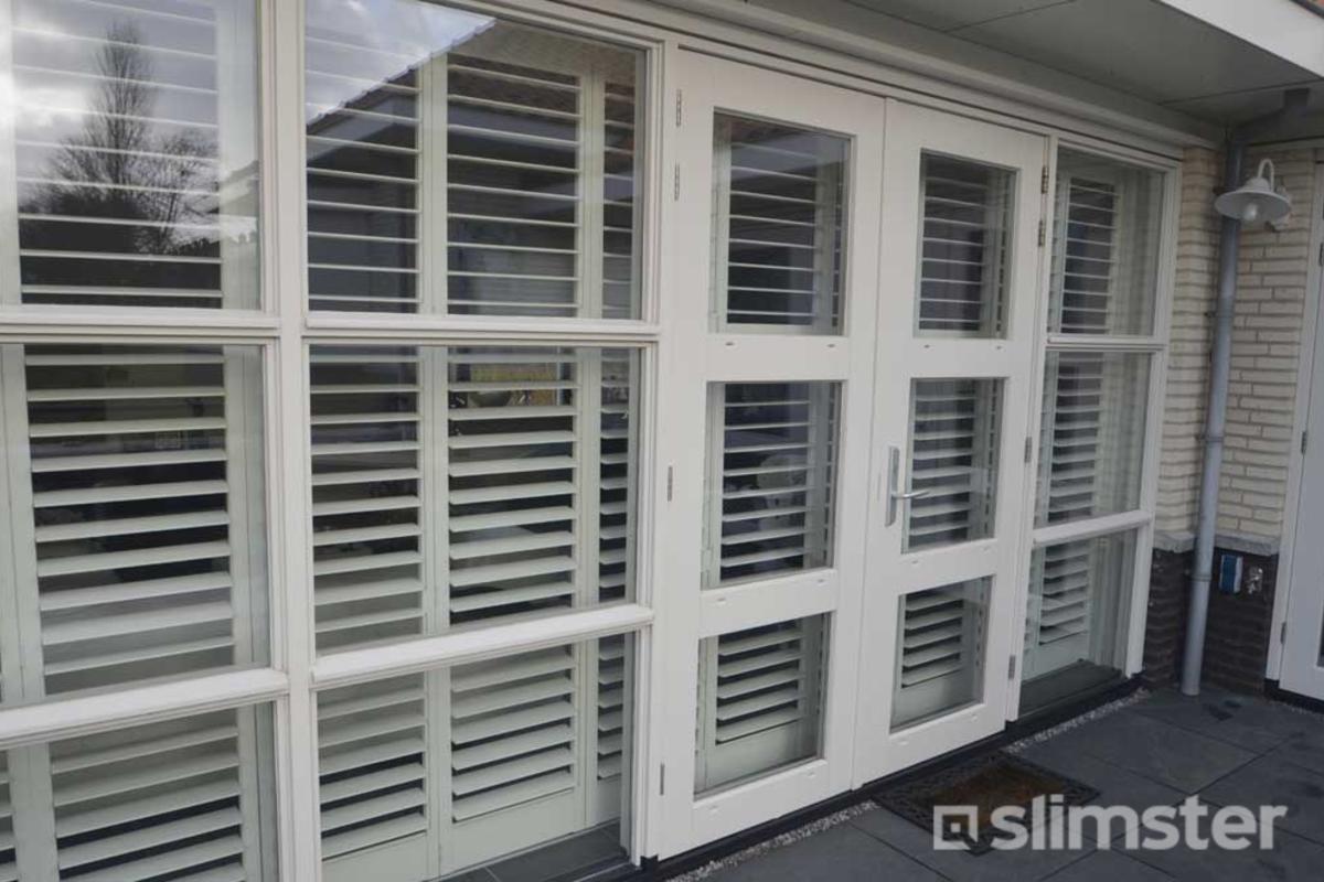 Shutters Openslaande Deuren : Shutters voor tuindeuren kopen laagste prijs slimster