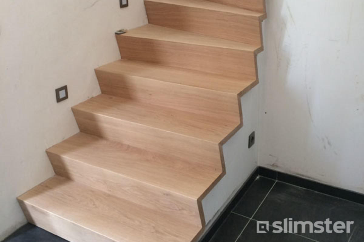 Betonnen trap bekleden beste renovaties afwerking slimster