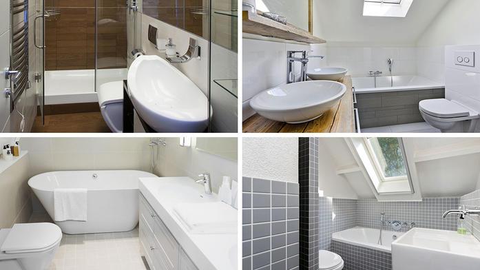 Kleine Badkamer Verbouwen : Kleine badkamer inspiratie? 9 tips slimster blog