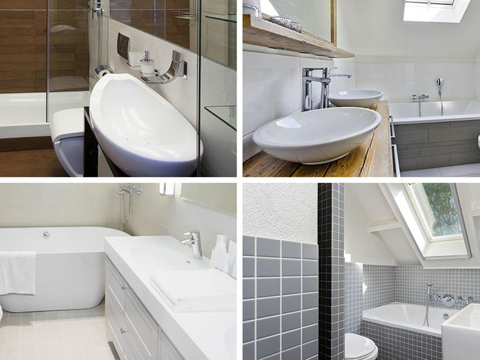 Indeling Smalle Badkamer : Kleine badkamer inspiratie? 9 tips slimster blog
