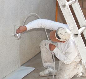 Verschillen tussen stucwerk en pleisterwerk for Behangklaar