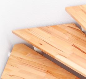 Traprenovatie traptreden treden vervangen via for Dikte traptreden hout