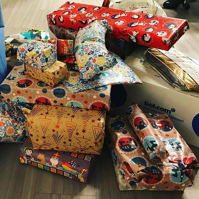 Sinterklaas pakjesavond