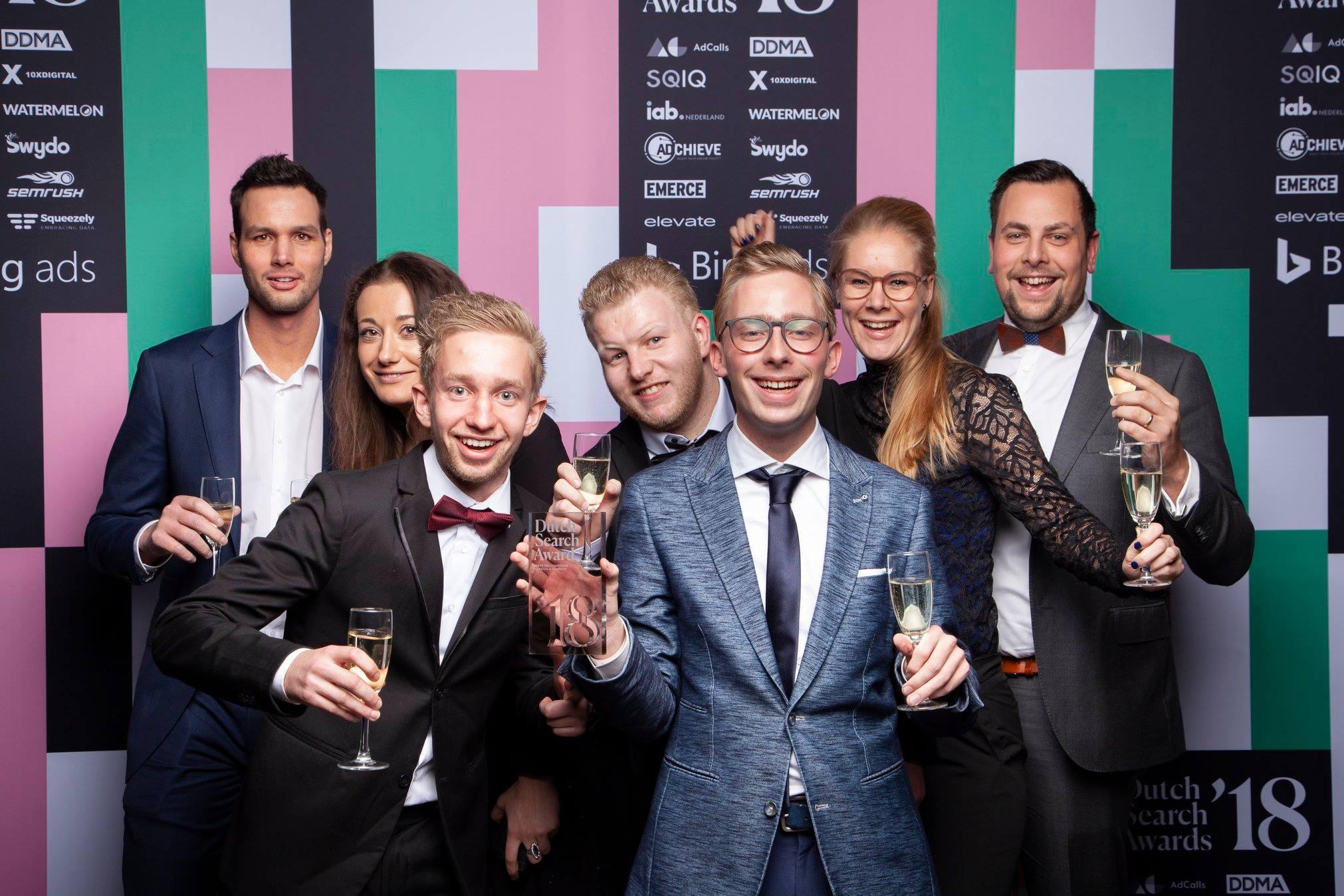 Dutch Search Awards winnaar