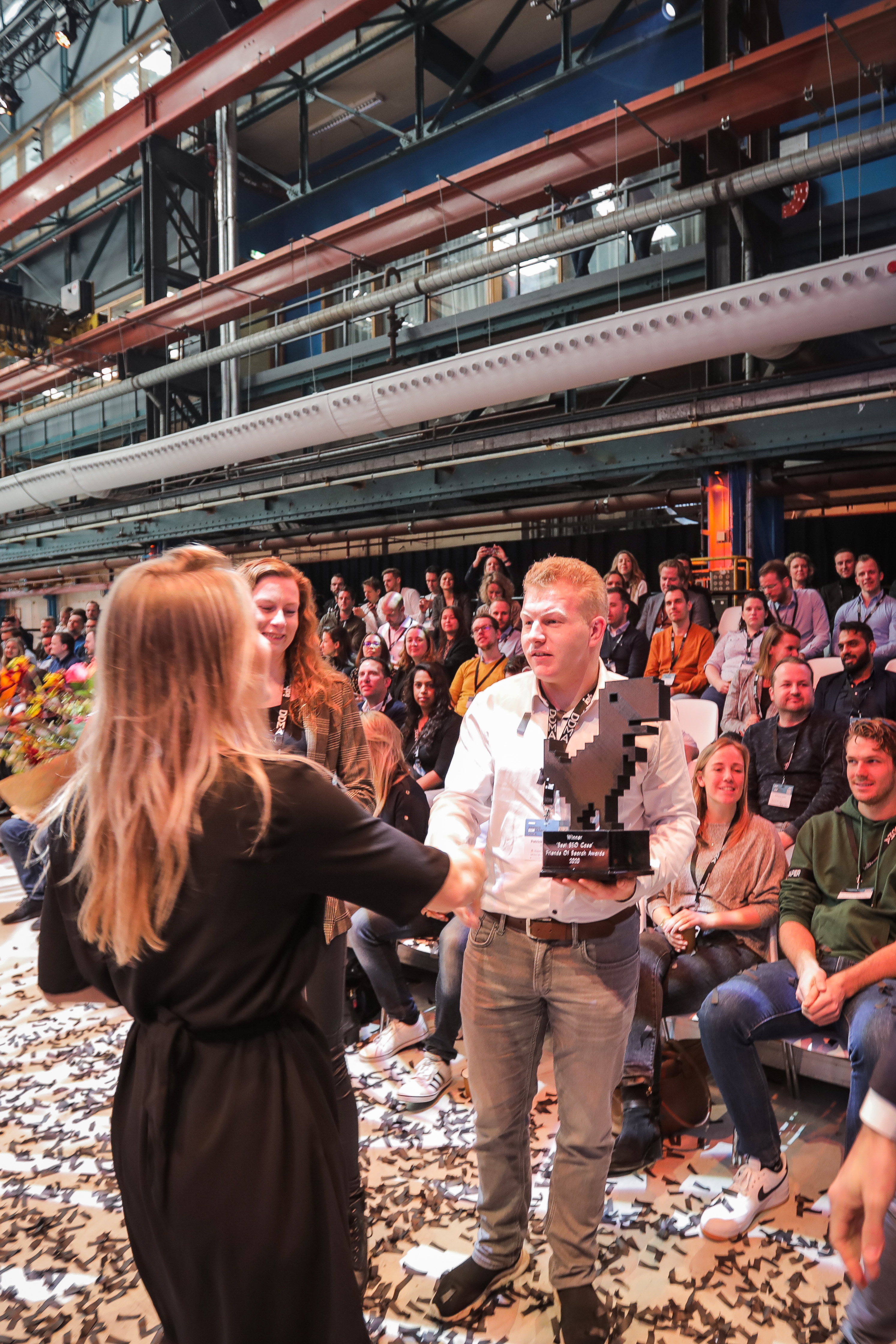 Uitreiking Friends of Search Awards - Best SEO