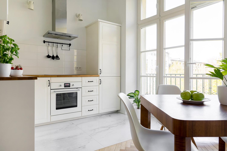 Witte keukendeuren