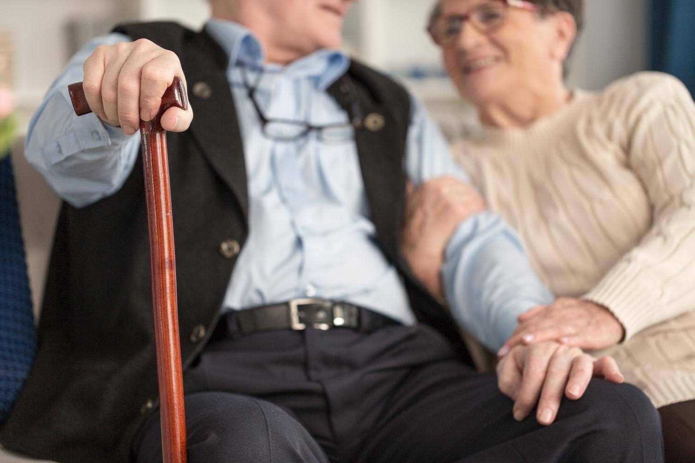 Gelukkige ouderen