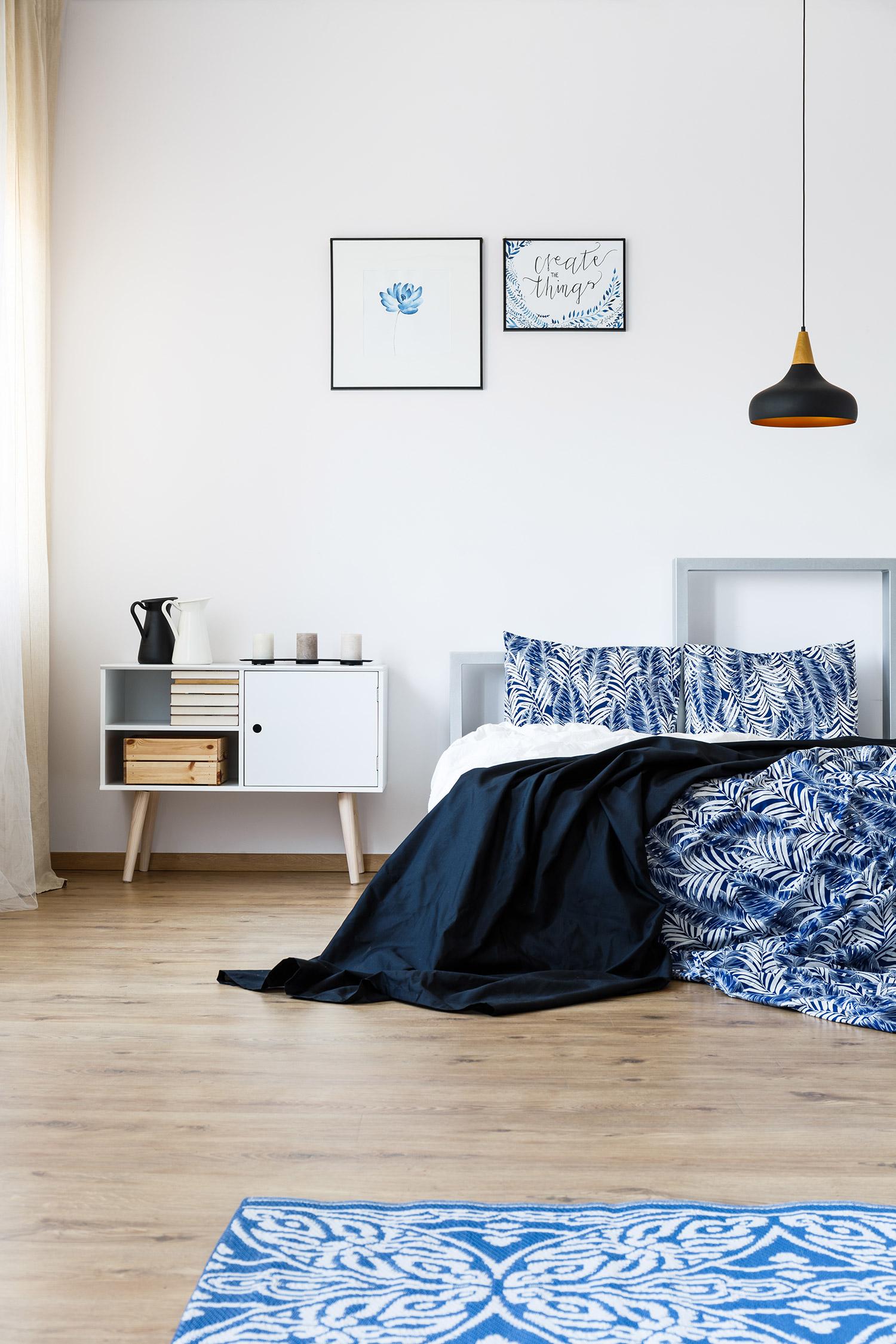 kleur slaapkamer rustgevend