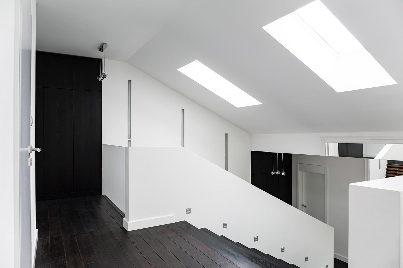 interieur vloer zwart