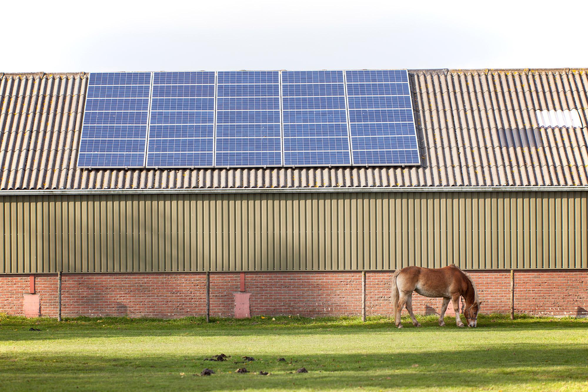 Zonnepanelen op boerderij plaatsen?